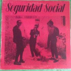 Discos de vinilo: SEGURIDAD SOCIAL – NO ES FÁCIL SER DIOS , CITRA PUNK PARALISIS VULPESS INTERTERROR ULTIMO RESORTE. Lote 140081254