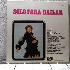 Discos de vinilo: SOLO PARA BAILAR. Lote 140082730