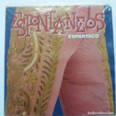 Discos de vinilo: ESPONTÁNEOS - ESPARTACO. Lote 140088146
