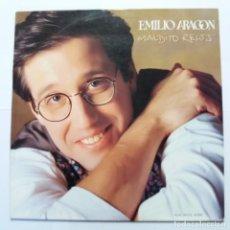 Discos de vinilo: EMILIO ARAGÓN - MALDITO RELOJ. Lote 140089942