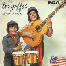 Discos de vinilo: LOS GOLFOS. SINGLE PROMOCIONAL. SELLO RCA VICTOR. EDITADO EN ESPAÑA. AÑO 1976. Lote 140095178
