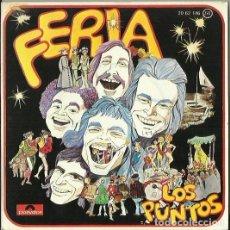Discos de vinilo: LOS PUNTOS. SINGLE. SELLO POLYDOR. EDITADO EN ESPAÑA. AÑO 1975. Lote 140097666