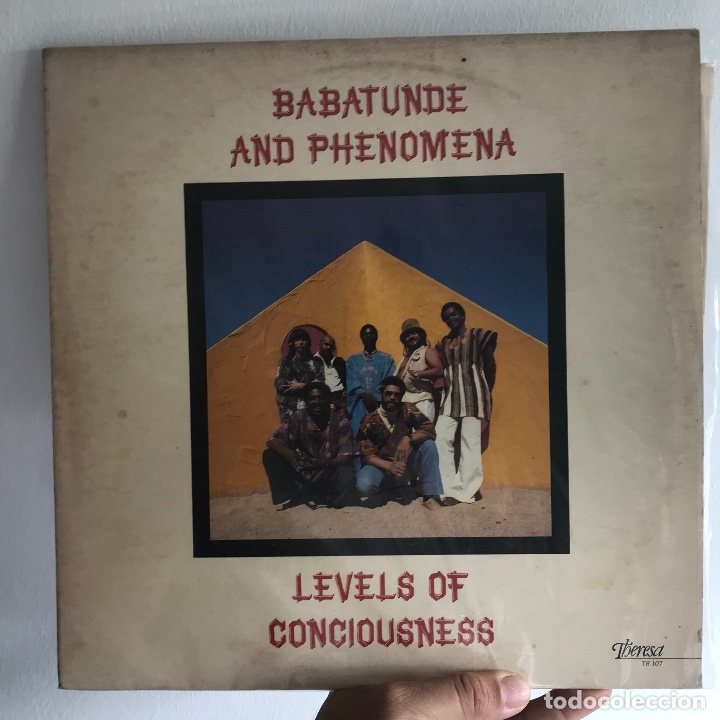 BABATUNDE AND PHENOMENA - LEVELS OF CONCIOUSNESS - THERESA TR 107 - 1979 - USA COMPARTIR LOTE (Música - Discos - LP Vinilo - Funk, Soul y Black Music)