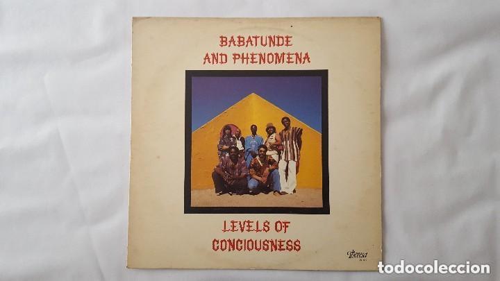 Discos de vinilo: BABATUNDE AND PHENOMENA - LEVELS OF CONCIOUSNESS - THERESA TR 107 - 1979 - USA Compartir lote - Foto 2 - 140108394