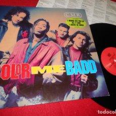 Discos de vinilo: COLOR ME BADD CMB C.M.B. LP 1991 GIANT EDICION ALEMANA GERMANY HIP HOP. Lote 140112874