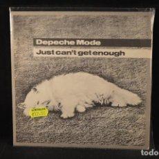 Discos de vinilo: DEPECHE MODE - JUST CAN´T GET ENOUGH - SINGLE. Lote 140114182