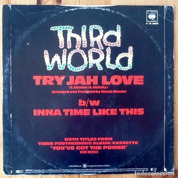 Discos de vinilo: THIRD WORLD : TRY JAH LOVE [UK 1982] 12 - Foto 2 - 140117762
