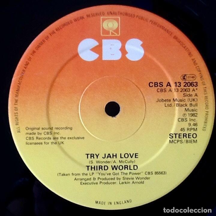 Discos de vinilo: THIRD WORLD : TRY JAH LOVE [UK 1982] 12 - Foto 3 - 140117762