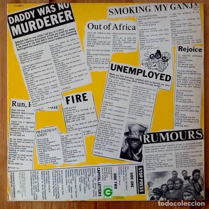Discos de vinilo: CAPITAL LETTERS : HEADLINE NEWS [ESP 1980] LP - Foto 2 - 140118098