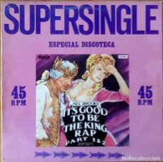 Discos de vinilo: MEL BROOKS : IT'S GOOD TO BE THE KING PART 1 & 2 [ESP 1981] 12'. Lote 140118954