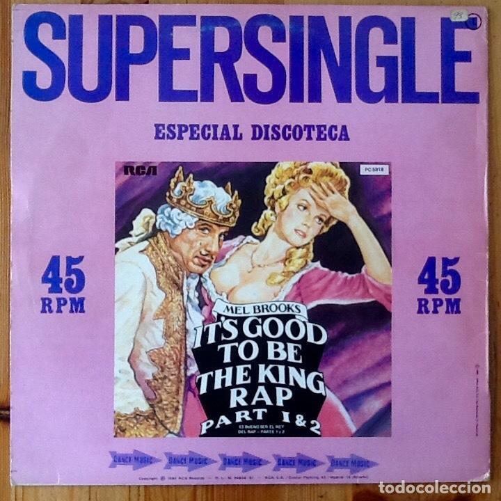 Discos de vinilo: MEL BROOKS : ITS GOOD TO BE THE KING PART 1 & 2 [ESP 1981] 12 - Foto 2 - 140118954
