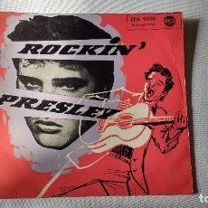 Discos de vinilo: PRIMER EP A 45 RPM EDITADO EN ALEMANIA DEL CANTANTE DE ROCK AND ROLL NORTEAMERICANO ELVIS PRESLEY. Lote 140119558