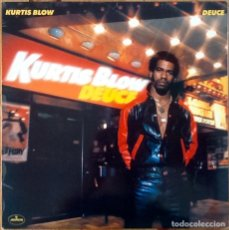 Discos de vinilo: KURTIS BLOW : DEUCE [ESP 1981]. Lote 140120350