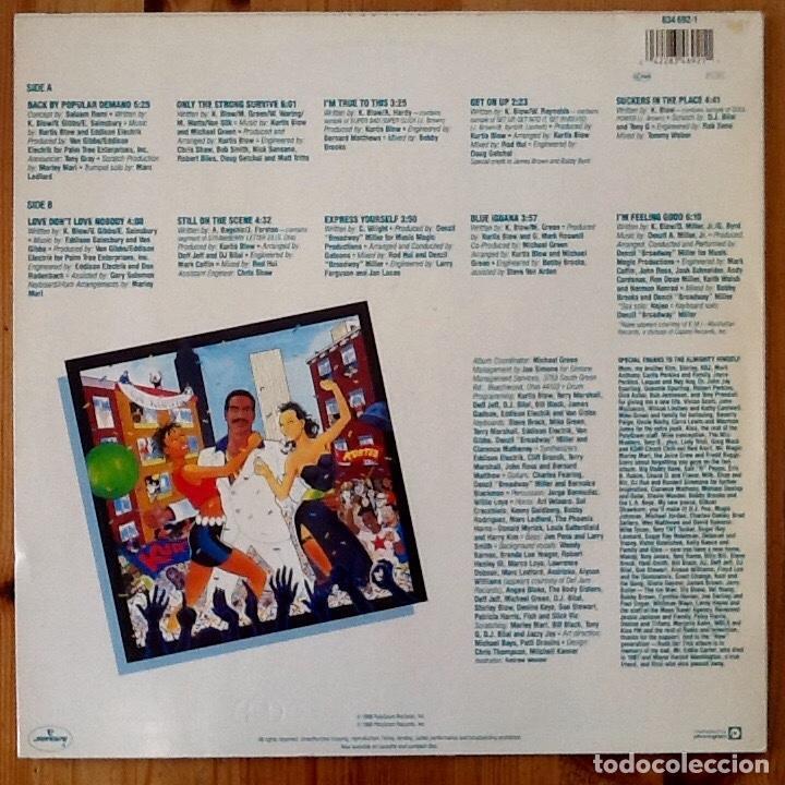 Discos de vinilo: KURTIS BLOW : BACK BY POPULAR DEMAND [NDL 1988] LP - Foto 2 - 140124624