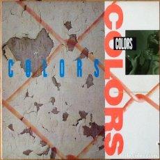 Discos de vinilo: V / A : BSO COLORS [USA 1988]. Lote 140121678