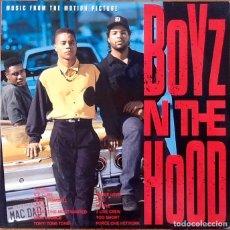 Discos de vinilo: V / A : BSO BOYZ N THE HOOD [EEC 1991]. Lote 140121922