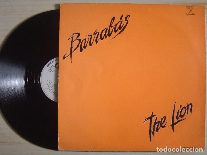 Discos de vinilo: Barrabas - The Lion (Dont Kill The Lion) - MAXI-SINGLE 45 - PROMOCIONAL ESPAÑOL 1982 - COLUMBIA - Foto 2 - 140137298