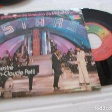 Discos de vinilo: ORCHESTRE CLAUDE PETIT. STARS GENERIQUE STARS.. Lote 140141418