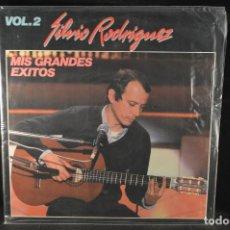 Discos de vinilo: SILVIO RODRIGUEZ - MIS GRANDES EXITOS VOL. 2 - LP. Lote 140143330