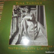Discos de vinilo: TINA TURNER - NUTBUSH CITY LIMITS MAXI 45 FEATURING THE BEST - CAPITOL 1988 - ALEMAN -. Lote 140143462