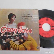 Discos de vinilo: CRAZY JOSE-EP CEREZO ROSA +3-NUEVO. Lote 140145562