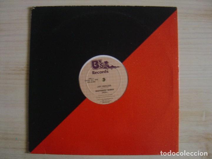 LADY EQUALIZER - INDEPENDENT WOMAN - MAXI-SINGLE 33 - USA - B'S RECORDS (Música - Discos de Vinilo - Maxi Singles - Reggae - Ska)