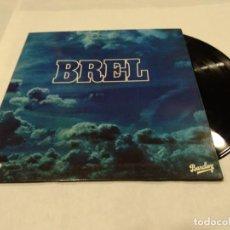 Discos de vinilo: BREL LP 1977. Lote 140161046