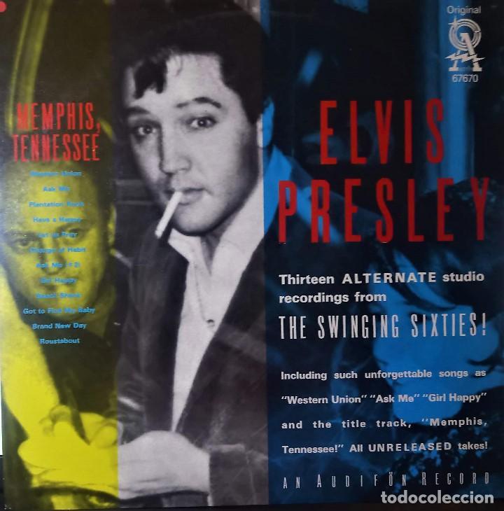 ELVIS PRESLEY - MEMPHIS TENNESSEE - LP AUDIFON (Música - Discos - LP Vinilo - Rock & Roll)