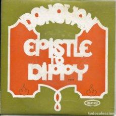 Discos de vinilo: DONOVAN / EPISTLE TO DIPPY / BERT'S BLUES / THE FAT ANGEL / PREACHIN' LOVE (EP PORTUGUES). Lote 140164026