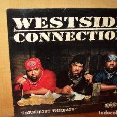 Discos de vinilo: WESTSIDE CONNECTION - TERRORIST THREATS - DOBLE LP 2003 MADE IN EU. Lote 140164326