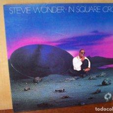 Discos de vinilo: STEVIE WONDER - IN SQUARE CIRCLE - LP 1985 CARPETA ABIERTA . Lote 140165182