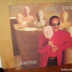 Discos de vinilo: STEVIE WONDER - CHARACTERS - LP 1987 CARPETA ABIERTA . Lote 140165362