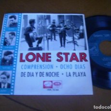 Discos de vinilo: EP : LONE STAR : COMPRENSION + 3 SPANISH 1965 RARO LABEL VERDE EX. Lote 140171822