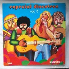 Discos de vinilo: V.A ESPECIAL DISCOTECAS VOL3 LP PROMOCIONAL DISCORAMA-1975-ORQ MARIO SELLES / ZEBRA / PHIL TRIM... Lote 140178806