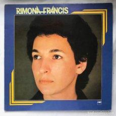 Discos de vinilo: LP_RIMONA FRANCIS – RIMONA FRANCIS ( HERMOSO DISCO DE JAZZ BOSSA QUE ROSA LO EXPERIMENTAL ) . Lote 140180746