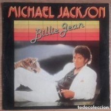 Discos de vinilo: MICHAEL JACKSON, BILLIE JEAN, SINGLE SPAIN 1982. Lote 140188414
