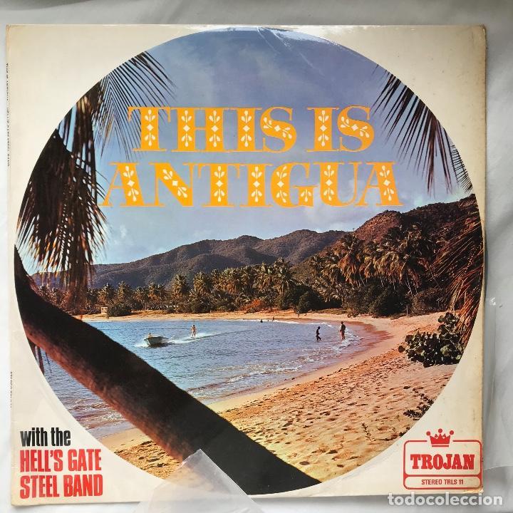 LP_HELL'S GATE STEEL BAND / THIS IS ANTIGUA_1969_REGGAE_CALYPSO (Música - Discos - LP Vinilo - Reggae - Ska)