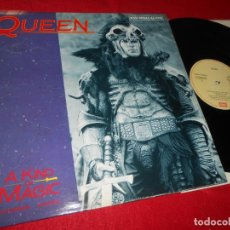 Discos de vinilo: QUEEN A KIND OF MAGIC(EXTENDED VERSION)/A DOZEN RED ROSES... MX 12'' 1986 EMI EDICION ESPAÑOLA SPAIN. Lote 140191710