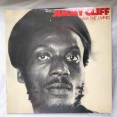 Discos de vinilo: LP_JIMMY CLIFF – I AM THE LIVING_ 1980, ENCARTE. Lote 140192598