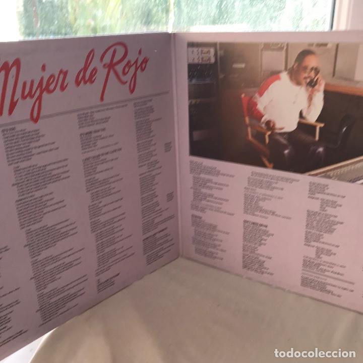 Discos de vinilo: Lp_GAT-De La Banda Sonora Original De La Película - La Mujer De Rojo_GAT_EX - Foto 2 - 140195790