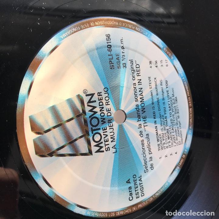 Discos de vinilo: Lp_GAT-De La Banda Sonora Original De La Película - La Mujer De Rojo_GAT_EX - Foto 4 - 140195790