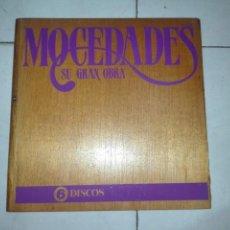 Discos de vinilo: MOCEDADES - SU GRAN OBRA. ESTUCHE MADERA CON 6 VINILOS.. Lote 140198270