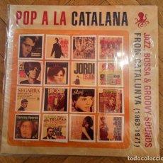 Discos de vinilo: POP A LA CATALANA - DOBLE VINILO JAZZ BOSSA AND GROOVY SOUNDS 1963/1971 EDIC. LIMITADA. Lote 140199410