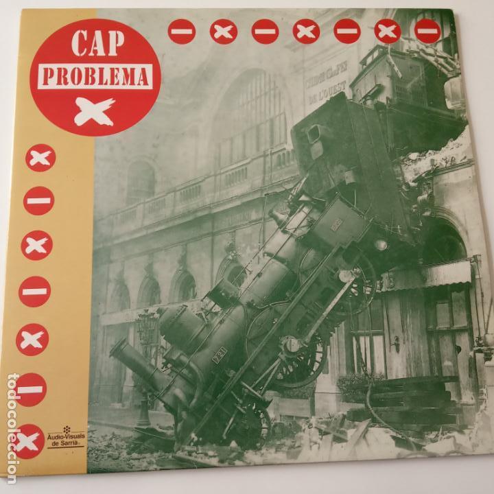CAP PROBLEMA- LP 1992. (Música - Discos - LP Vinilo - Grupos Españoles de los 90 a la actualidad)