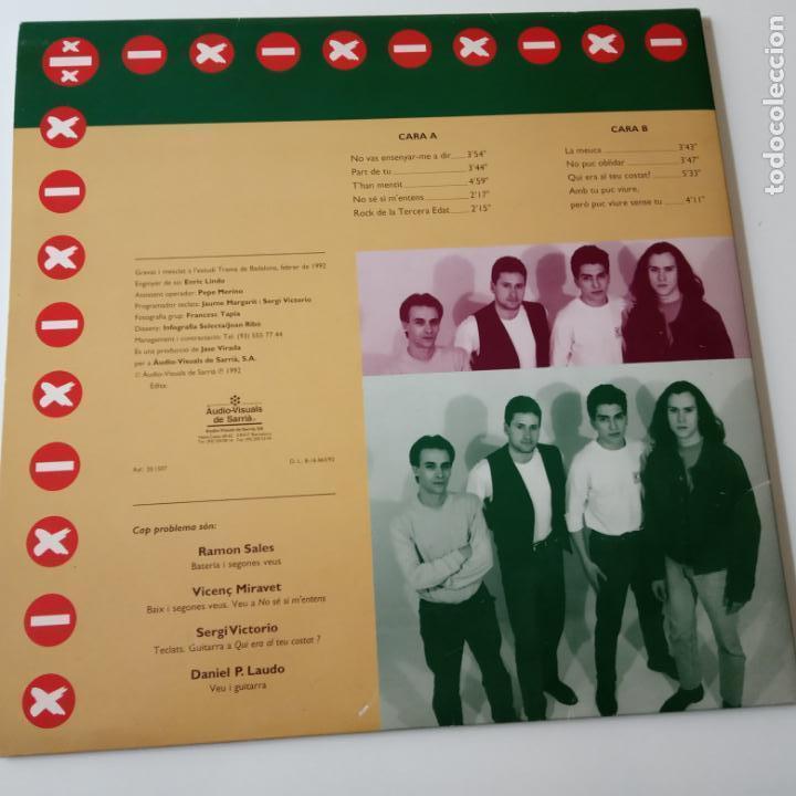 Discos de vinilo: CAP PROBLEMA- LP 1992. - Foto 3 - 140214774
