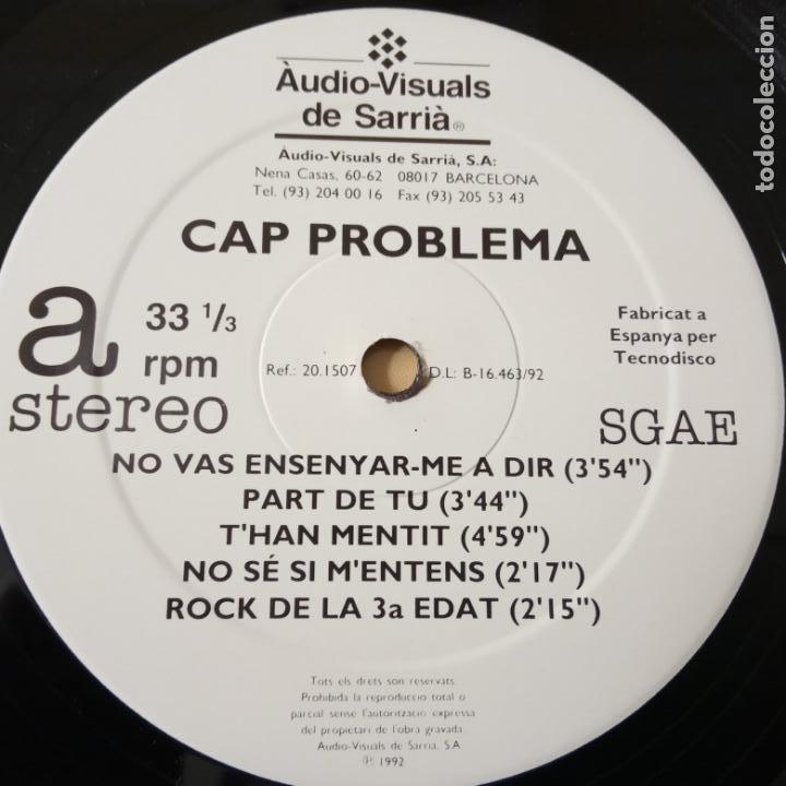 Discos de vinilo: CAP PROBLEMA- LP 1992. - Foto 4 - 140214774