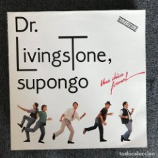 Discos de vinilo: DR. LIVINGSTONE, SUPONGO - UNA CHICA FORMAL - MAXISINGLE DRO 1989. Lote 140230138