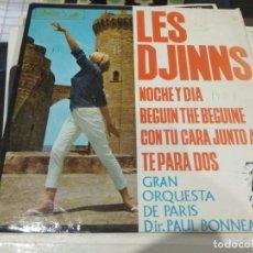 Discos de vinilo: EP LES DJINS NOCHE Y DIA. Lote 140244286