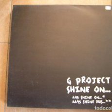 Discos de vinilo: G PROJECT SHINE ON... - VENDETTA RECORDS 1999 - MAXI - PLS. Lote 140245454