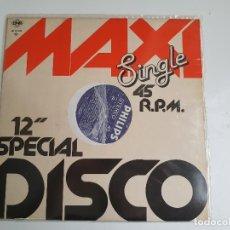 Discos de vinilo: MAXI SINGLE - 12 SPECIAL DISCO 45 R.P.M (VINILO). Lote 140247174